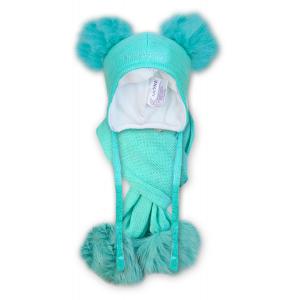 Детские шапки и шарфы