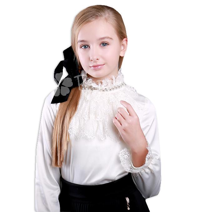 435cfb5bdacd 👗 Детская нарядная блузка Mone для девочки