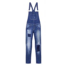 Детский джинсовый комбинезон Tiffosi для девочки