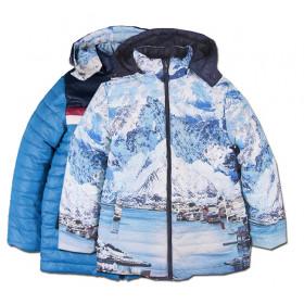 Детская двухсторонняя куртка Boboli для мальчика