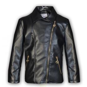 Детская кожаная куртка -косуха Mone  для девочки