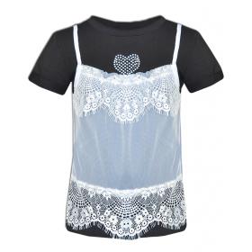 Детская нарядная футболка Mone  для девочки