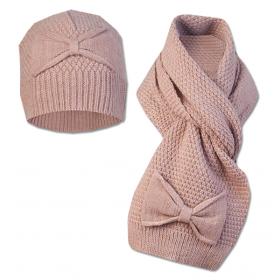 Детский набор  шапка+шарф  Girandola для девочки