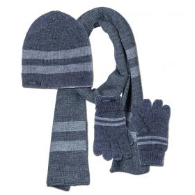 Детский набор шапка, шарф и перчатки Tiffosi для мальчика