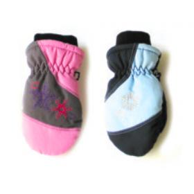 Детские лыжные рукавицы Be Snazzy для мальчика и девочки
