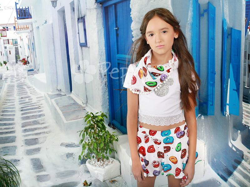 03ba920a914f 👗 Дитячий топ Mone для дівчинки