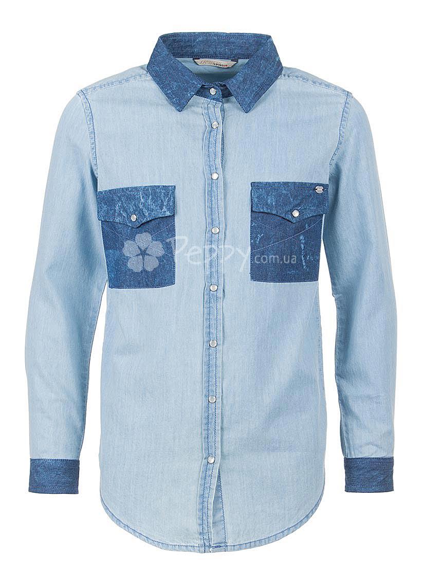 👗 Дитяча джинсова сорочка Tiffosi для дівчинки ec628e3b83da6