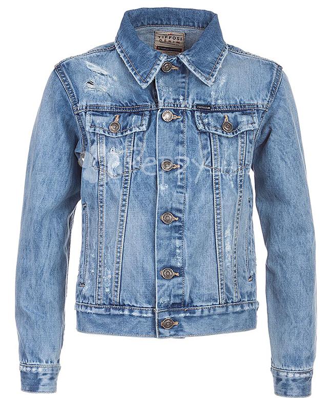 👗 Джинсова куртка Tiffosi для хлопчика 07bd204f2f0f7