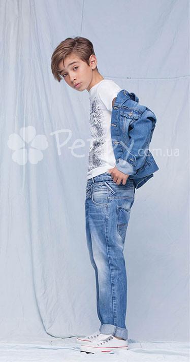... Джинсова куртка Tiffosi для хлопчика 449ea9329772a