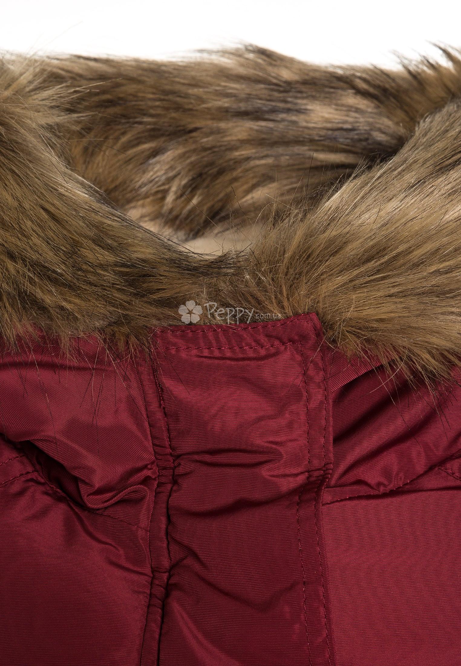 ... Дитяча куртка-парка Tiffosi для дівчинки ... d5edacbf8de7b